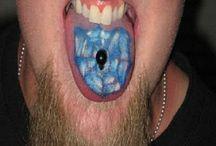 Weirdest tongue tattoos  / Weirdest tongue tattoos