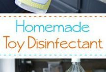 DIY Cleaning Mixes / Make your own homemade cleaners. You'll save money and protect your indoor air quality, too.