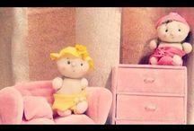 bambole stoffe e altro
