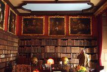 Studeerkamer nieuwe huis stijl oud Engels