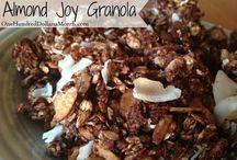 Recipes - Granola / Granola, Granola Recipes, Homemade Granola, Easy Granola, Grain Free Granola Ideas,