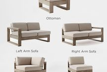 Egenlagde møbler
