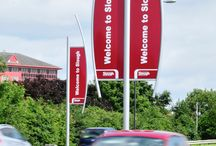 Signage | Slough Borough Council / To keep up to date with latest projects visit www.octink.com