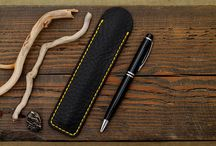 leather pen case mensaccessories / fashion style leather wallet travel craft leathergoods handcraft 22theportall leathercraft mensstyle mensfashion watchstrap watchband mensaccessories leather pen case
