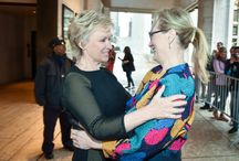 Backstage at WITW 15 in NYC / Behind the scenes, local heroes, world leaders, and celebrities shared hugs and conversation in between panels. We look back on some of the most candid moments from the 2015 Women in the World Summit.