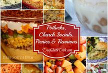 Potlucks/Church Socials