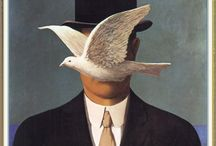 "Art  *René Magritte* / René François Ghislain Magritte (1898 – 1967) was a Belgian surrealist artist. He became well known for a number of thought-provoking images that fall under the umbrella of surrealism. His work challenges observers  preconditioned perceptions of reality. ""	It is a union that suggests the essential mystery of the world. Art for me is not an end in itself, but a means of evoking that mystery""..."