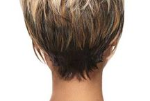 Hairstyles for  over 60 women -- short styles for round faces