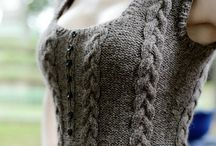 Nadia likes knitting