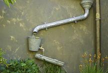 voda v zahradě