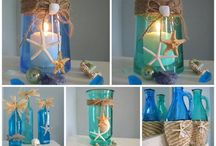 rope & shell decor