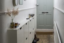 small hallway storage ideas
