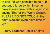 Pratchett-isms and Favorite Things