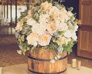 rustic wedding flower