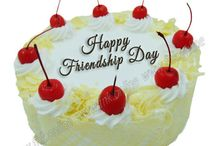 Friendship day Cakes online Coimbatore / Buy Friendship day cakes online at Friend In Knead online cake shop Coimbatore. Get Friendship Day Special offer on Friendship Day Black Forest Cake starting Rs 300/-