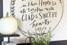 Ideas // Sweet Home Projects / Stuff I want to do in my home now or someday!
