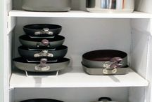 Pots and pans storage solution