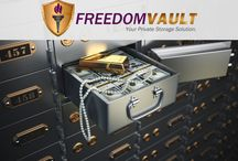 Private Secure Vault-High Value Storage / We are a private security vault for your high value storage needs. An alternative to Banks. We offer anonymity, enhanced security, and 24hr convenience. We are less restrictive than a bank, we offer gun storage, and have larger storage lockers for bigger items.