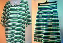 sukně z trička