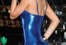 Tight dress shining