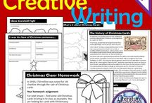 Christmas Teacher / Seasonal activities for the classroom. Fun and thought.