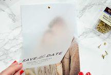 Save the Dates/ Invitations