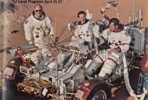 Moon Landing TV / TV, press coverage and artwork for NASA's Apollo space programme and six Moon landings starting with Apollo 11 in July 1969 and ending with Apollo 17 in December 1972.