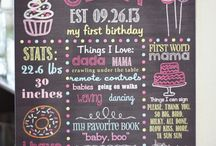 First Birthday Party Ideas - Girl