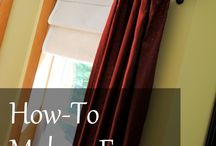 Drapery, Curtains, Windows DIY