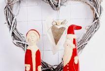Dekoracje świąteczne / Pomysły na dekoracje świąteczne dla osób kochających ceramikę artystyczną, rękodzieło.