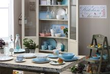 Wilko | Dining Room / Not the dinner-on-your-knee type? Kitchen dining isn't just about the food, it's about presentation too. From open cabinets to quirky crockery, find inspiration for your dining room here.