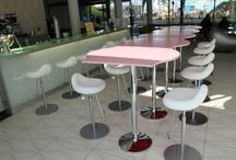 Neue Design-Barhocker für das prizeotel Bremen-City / Wir nehmen Kritik unserer Gäste ernst! Nur durch diese konnten wir unser Qualität auf den gleichen hohen Standard halten und haben dafür brandneue Design-Barhocker für den Bar-Bereich gekauft. / by prizeotel