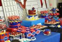 spiderman sweet table