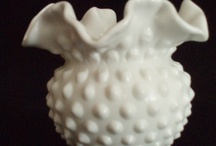 Milk Glass Dishes / by Louise Ord