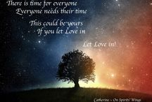 Spiritual Quotes / Spirit shares loving messages from beyond to encourage us on our earth journey. From On Spirits Wings onspiritswings.com https://www.facebook.com/catherine.onspiritswings Friendships welcome!