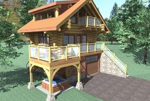 Bachelor - 470 Sq. Ft. (43.6 sq m) / 470 sq ft - Bachelor RCM CAD DESIGN DRAFTING LTD is an architectural design firm primarily specializing in log and timber construction projects.