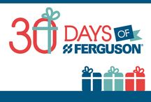 30 Days of Ferguson  / Looking for the perfect holiday gift for him or her? Something that won't shoot anyone's eye out? Ferguson is bringing you 30 days of great gift ideas for everyone on your list. Like a touchless kitchen faucet, a showerhead that plays music using Bluetooth technology, a beverage machine that makes coffee, espresso, cappuccino and more. All with just a click of a mouse. #30DaysofFerguson