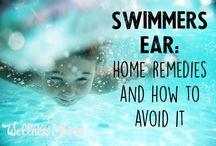 Swimmers ear cure