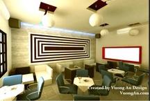 Nhà Hàng - Cafe / http://www.vinacolors.com