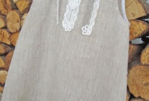 linen dress / by Inga Baltmane