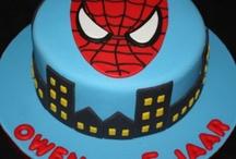 Matthew's Spider-Man cake