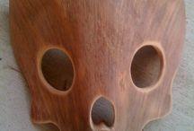 Wood Stone Mask