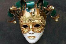 masky škrabošky