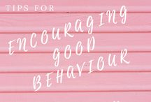 Encouraging Good Behaviour / If you are looking for tips to balance discipline and managing good behaviour in your children, this is the board for you!
