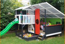 Cubby houses & outdoor play