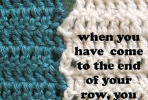 Learning to crochet tips