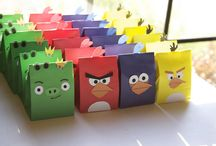 Angry Bird Birthday Party