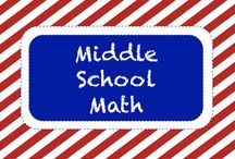 | Math • Middle School | / Middle School Math Resources