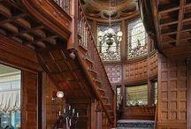 viktorianské interiery