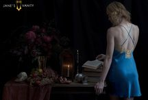 Jane's Vanity Winter 2015-16 Lookbook / The Jane's Vanity 2015 Winter Lookbook was inspired by the richness of paintings by the Dutch Masters; their lavish textures, glowing Chiaroscuro light, and inescapably moody ambiance. What better way to showcase our most decadent collections of the year? Shop this look book at www.janesvanity.com!